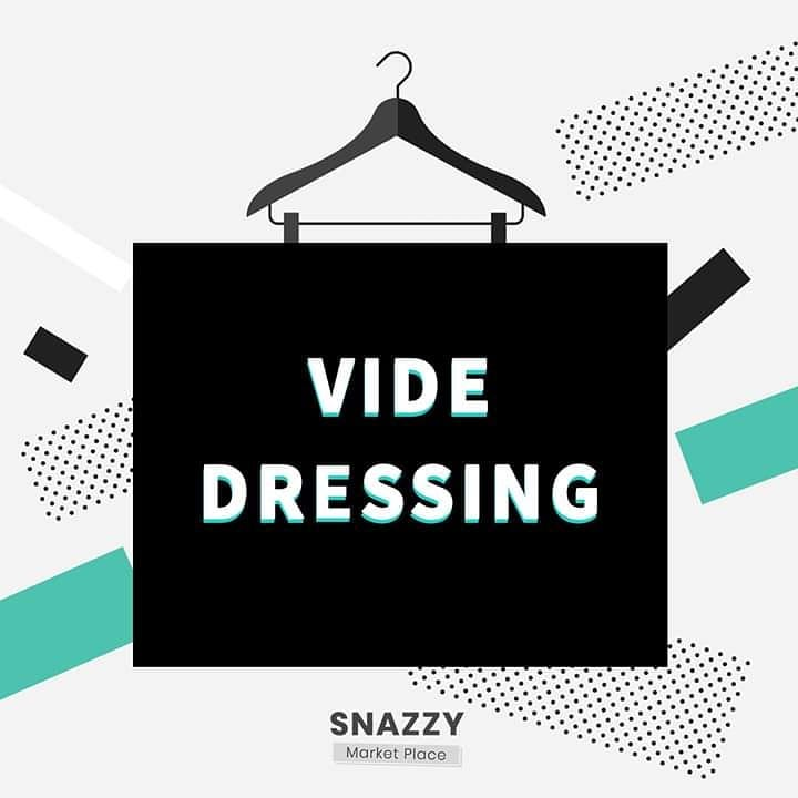 Snazzy marketplace; Vendez Sur marketplace; Vide Dressing