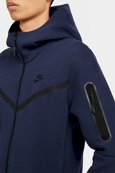 NIKE SPORTSWEAR TECH FLEECE TAPED FULL-ZIP HOODIE | Snazzy marketplace