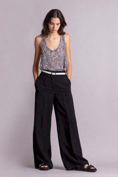 Pantalon large en lin | Snazzy Marketplace